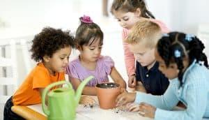 children in preschool