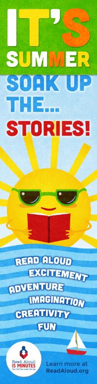 read aloud bookmark 2016