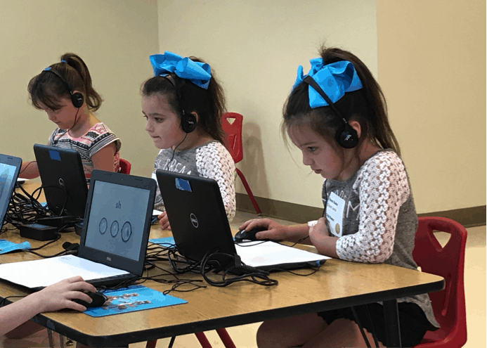 Children take WACS test at end of Ohio pilot