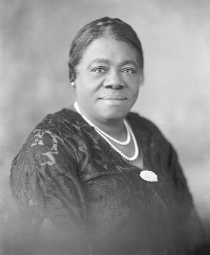 Mary McLeod Bethune. Photo: National Parks Service