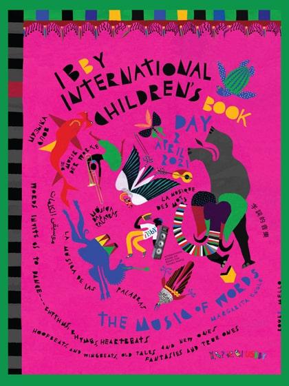 International Children's Book Day poster for 2021